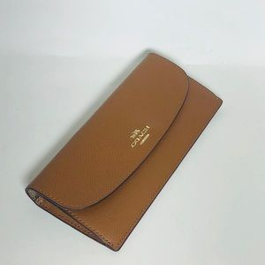 Coach Bags - SOFT WALLET IN CROSSGRAIN LEATHER
